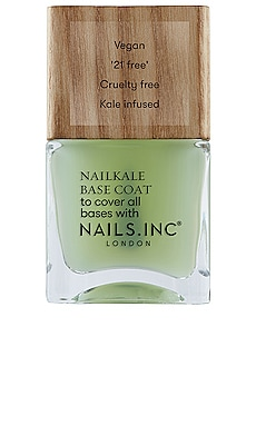 Nailkale Superfood Base Coat with Wooden Cap NAILS.INC $15
