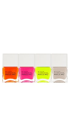 Naked In Neon Quad NAILS.INC $22 BEST SELLER