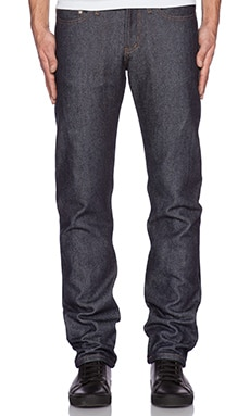 Naked & Famous Denim Weird Guy Heavy Soft Selvege 19 oz. in Indigo