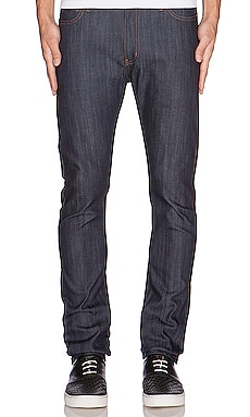 Naked & Famous Denim Stacked Guy 12oz Indigo Power Stretch in Indigo