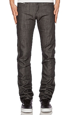 Skinny Guy Charcoal Selvedge Naked & Famous Denim $155
