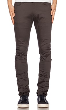 Naked & Famous Denim Stacked Guy Carbon Stretch 8oz in Dark Grey