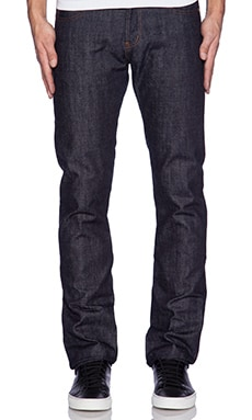 Naked & Famous Denim Skinny Guy Unsanforized Natural Indigo Selvedge 13oz inTrue Indigo