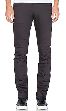 Naked & Famous Denim Skinny Guy 12oz Power Stretch in Smoke Grey