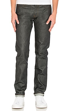 Super Skinny Guy 14oz Wax Coated Selvedge