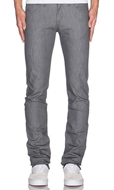 Skinny guy grey stretch - Naked & Famous Denim