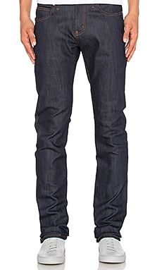 Naked & Famous Denim Skinny Guy 12oz. in Power Stretch Indigo