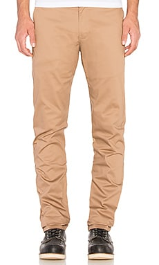 Naked & Famous Denim Slim Chino 12oz Stretch Twill in Beige
