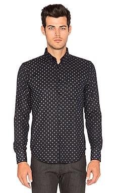Regular Shirt Kimono Print Plus