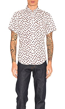 Рубашка на пуговицах с коротким рукавом - Naked & Famous Denim