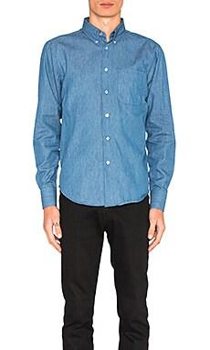 Обычная рубашка на пуговицах - Naked & Famous Denim 120118124