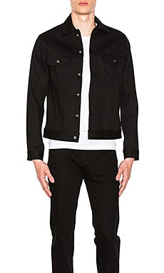 Denim Jacket Solid Black Selvedge Naked & Famous Denim $182