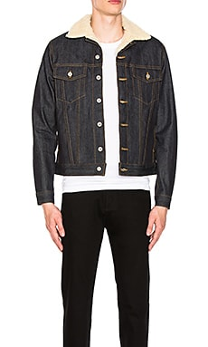 Sherpa Jacket Left Hand Twill Naked & Famous Denim $187