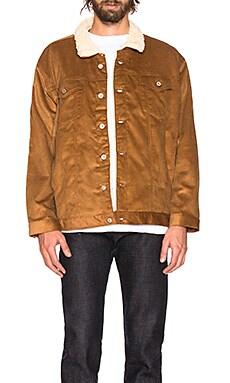 Oversized Sherpa Jacket Naked & Famous Denim $146