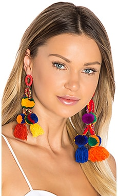 Killa Earrings in Multi