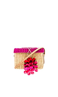 Roge Medium Pompom Bag Nannacay $79
