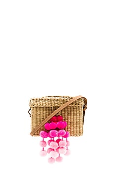 x REVOLVE Roge Small Pompom Bag Nannacay $207