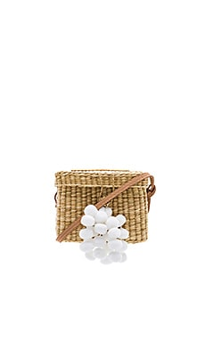 Roge Small Pompom Bag Nannacay $125
