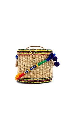 Ana Bucket Patchwork Strap Nannacay $62
