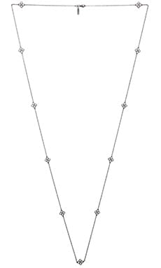 Natalie B Jewelry Angelica Necklace in Antique Black Patina