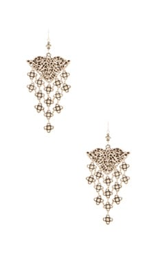 Ceren Earring in Silver