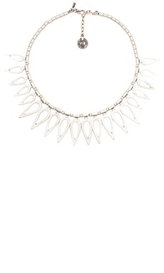 Natalie B Jewelry Flame of Glory Necklace in Silver
