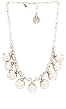 Natalie B Jewelry Coin of Ata Necklace in Silver