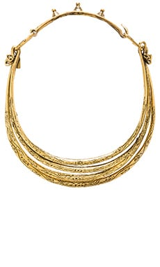 Natalie B Jewelry Soul Seeker Necklace in Brass