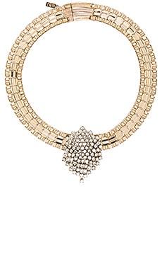 Natalie B Jewelry Monroe Vintage Choker in Gold