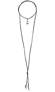Natalie B Jewelry Zuni Necklace in Black & Turquoise