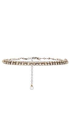 Natalie B Jewelry x REVOLVE Vintage Rhinestone Choker in Silver