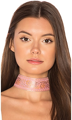 Marari Choker in Pink & Gold
