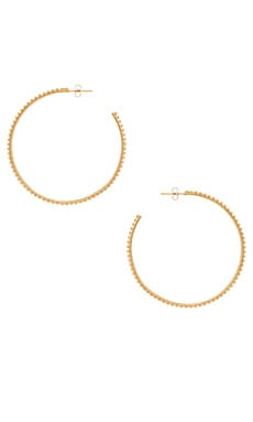 Nebula Ball Hoops Natalie B Jewelry $42