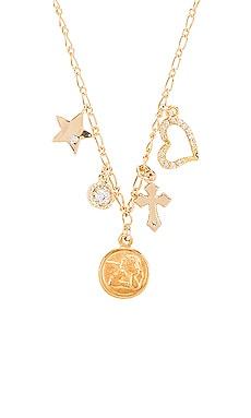 Angelic Charm Necklace Natalie B Jewelry $51