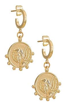 Cherie X Revolve Mini Hoop Earring Natalie B Jewelry $37