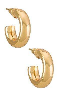 BOUCLES D'OREILLES CRÉOLE RUMI Natalie B Jewelry $39