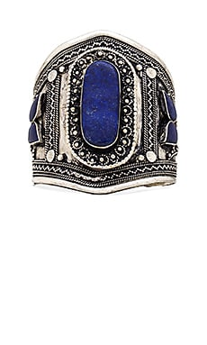 Natalie B Jewelry Ava 2 Cuff in Blue/Silver