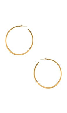 Hoop Earring in Gold