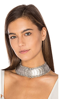Cyprus Choker Necklace in Silver