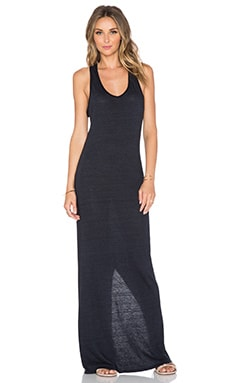 Nation LTD Aurora Racerback Maxi Dress in Black
