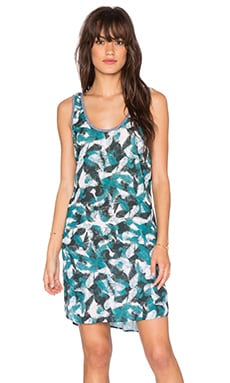 Nation LTD Skyler Dress in Pacific Palm Print