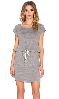 Nation LTD Sabrina Dress in Heather Grey