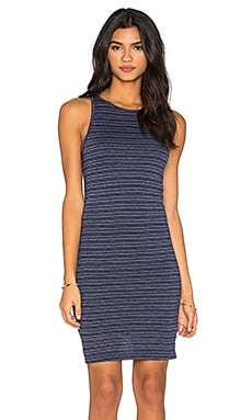 Nation LTD Brandy Tank Dress in Navy