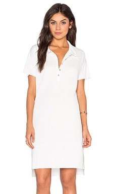 Andy Polo Dress in Ecru