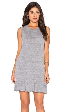 Serena Mini Dress in Heather Grey