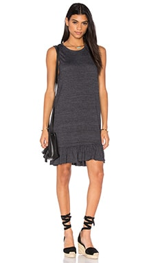 Serena Mini Dress in Charcoal