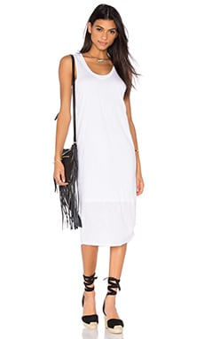 Merrill Tank Dress in White