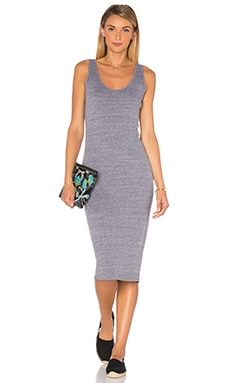 Gayle Tank Dress in Heather Grey