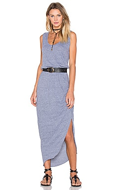 Nation LTD Ty Dress in Heather Grey