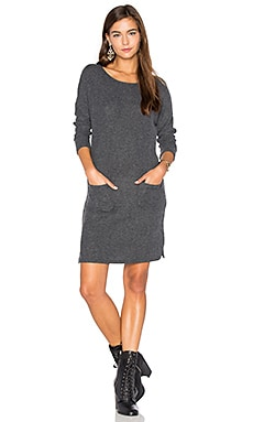 Lena Dress in Heather Grey